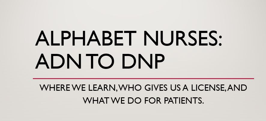 alphabet nurses
